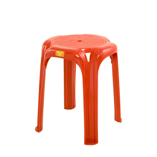 VIP Stool High Red