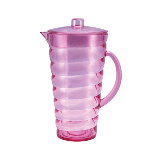 Wave Jug Trans pink 2.2L