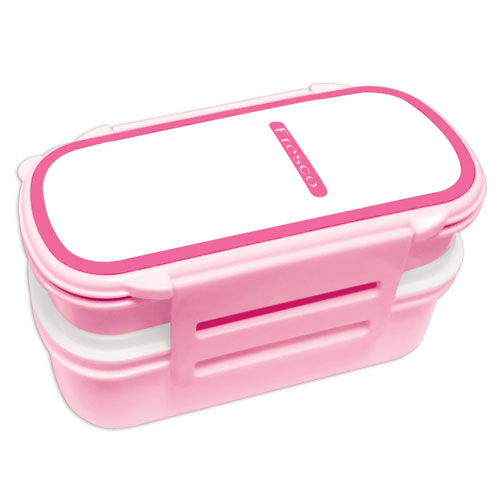 Care Tiffin Box-Double-Light Pink
