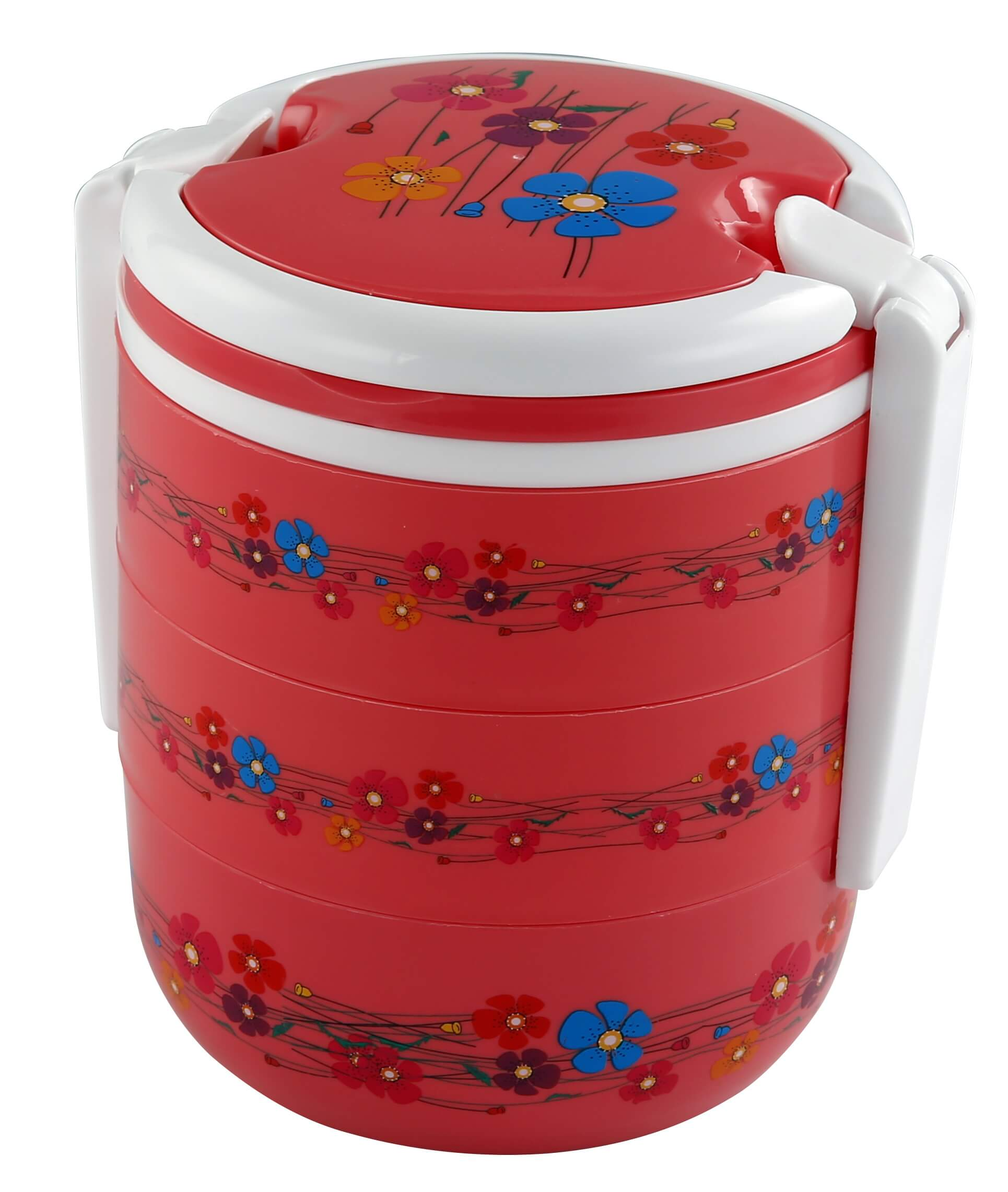 Round 3 Bati Tiffin Box – Pink