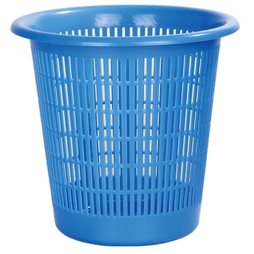 Dust keeper Paper Basket Blue