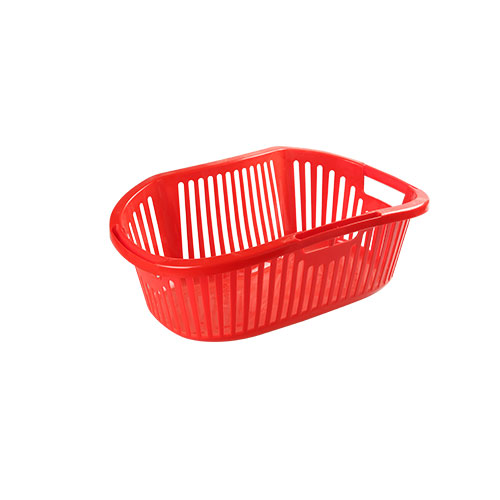 Kidney Laundry Basket Small (Pearl Pink)