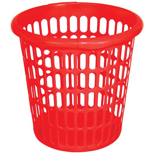 Round Laundry Basket Red (45 CM)