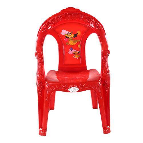 Royal Baby Chair Printed Red