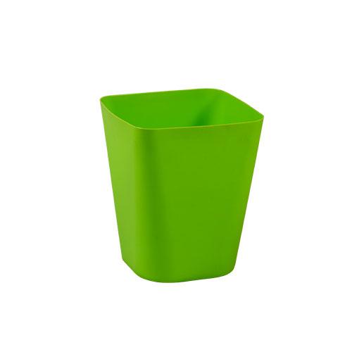 Square Paper Basket Green