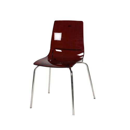 Transpa Deluxe Chair- Trans Bronze