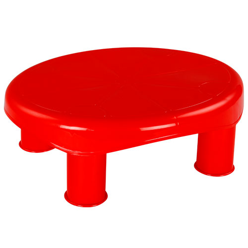 Beauty Stool Red