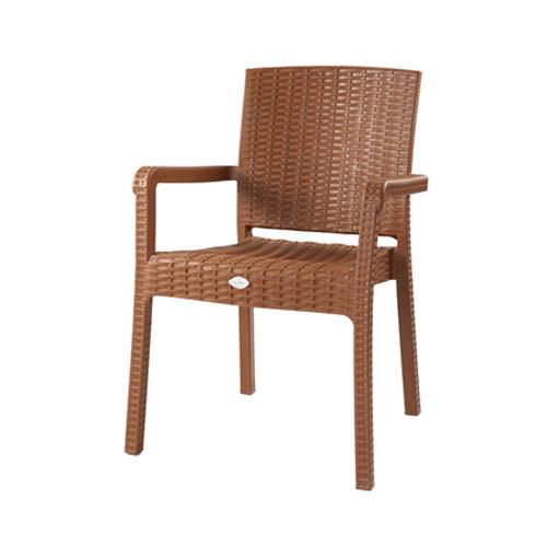 Caino Arm Chair-Sandal Wood