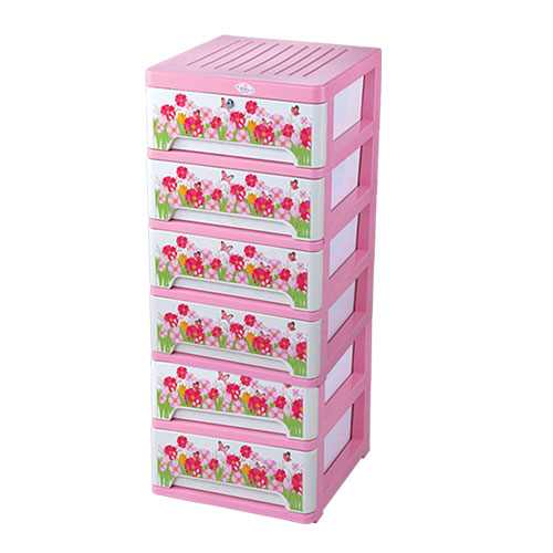 Amass Closet Lotus 6 Drawer