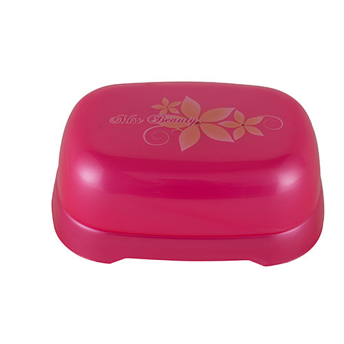 Beauty Soap Box Square Pink