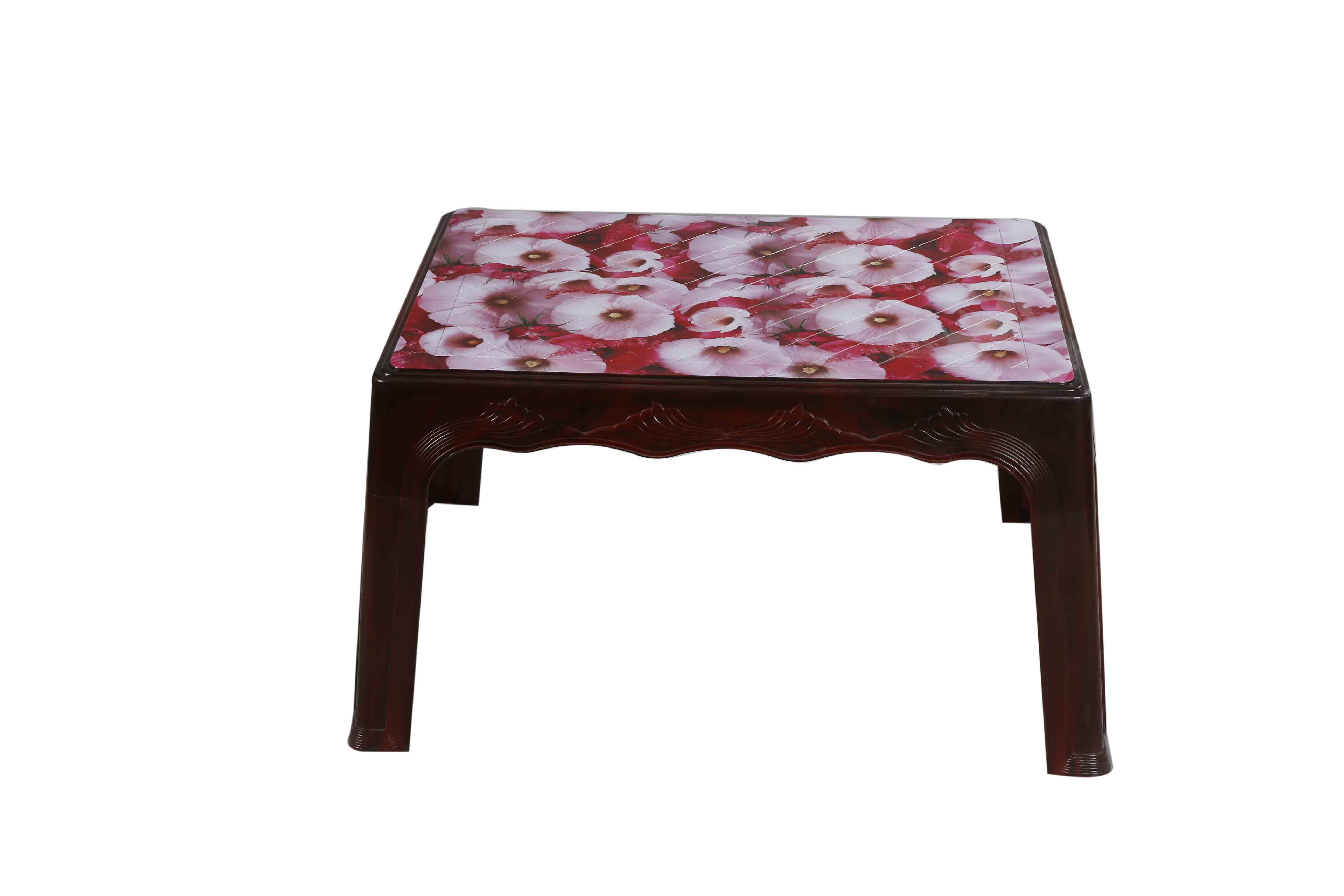 Center Table Printed Cherry – Rose Wood