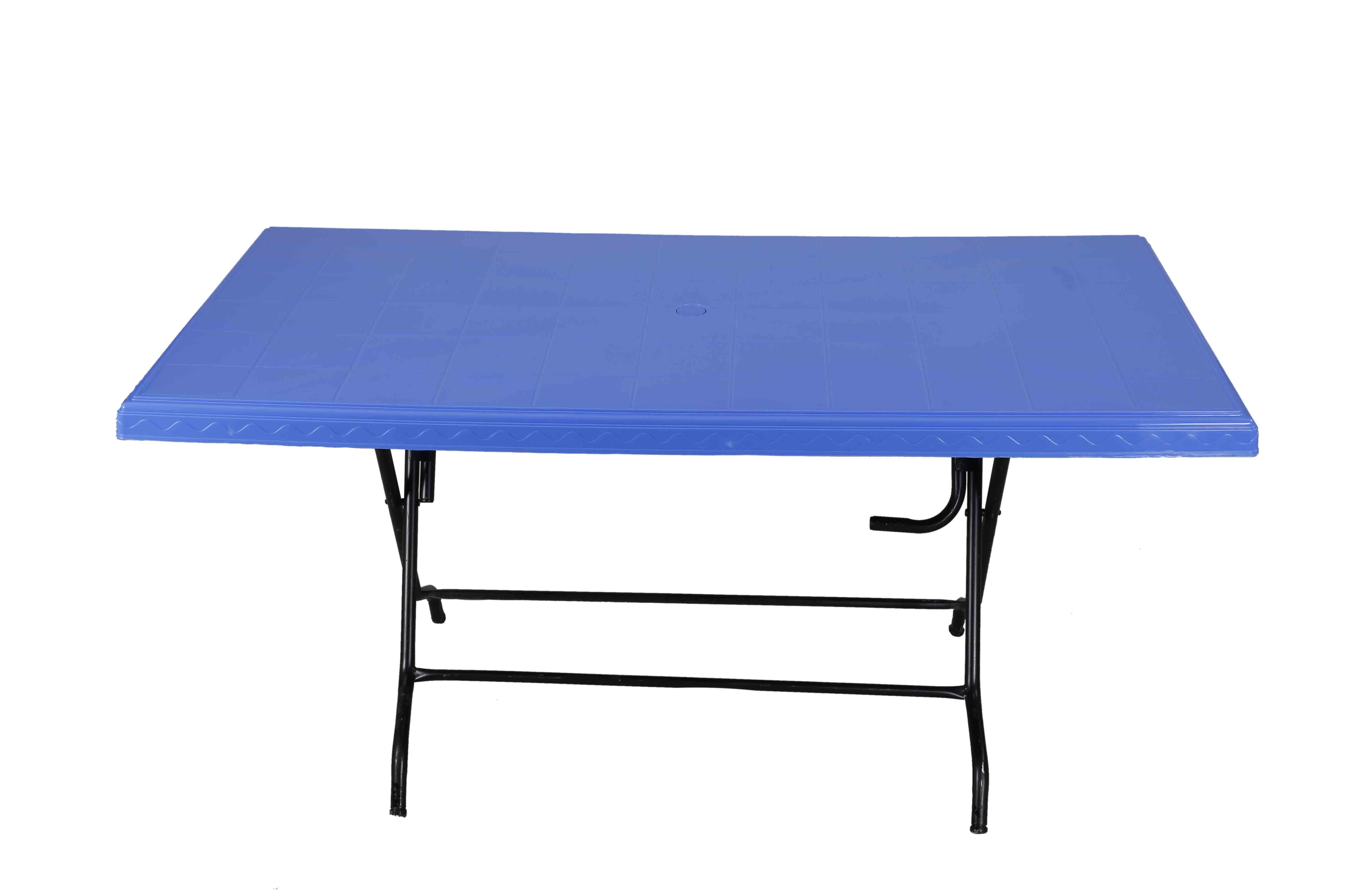 Decorate Table 6 Seated St/Leg – SM Blue