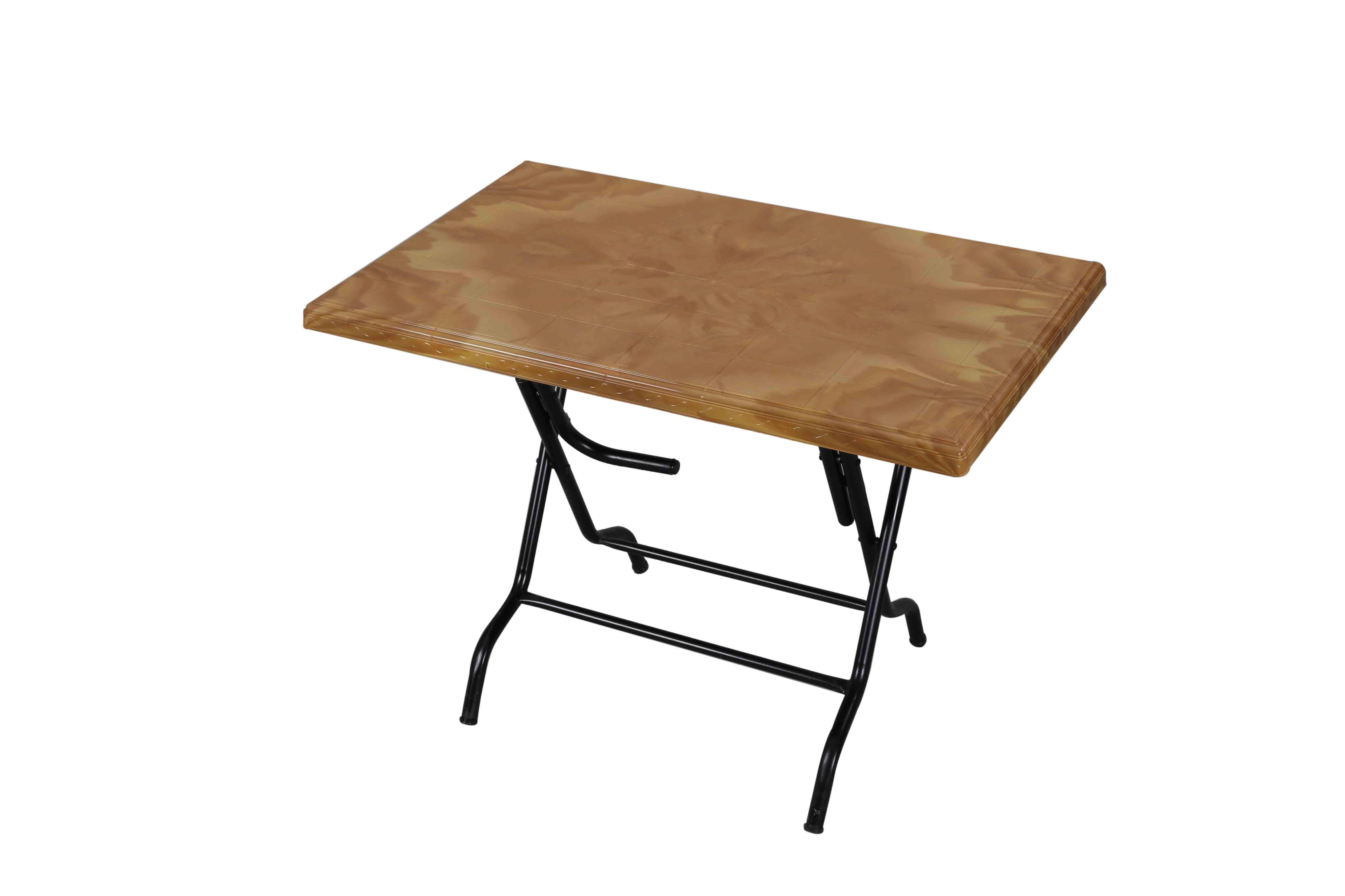 Decorate Table 6 Seated St/Leg – Sandal Wood