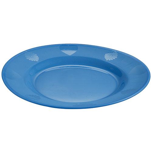 Design Plate Blue 9.5