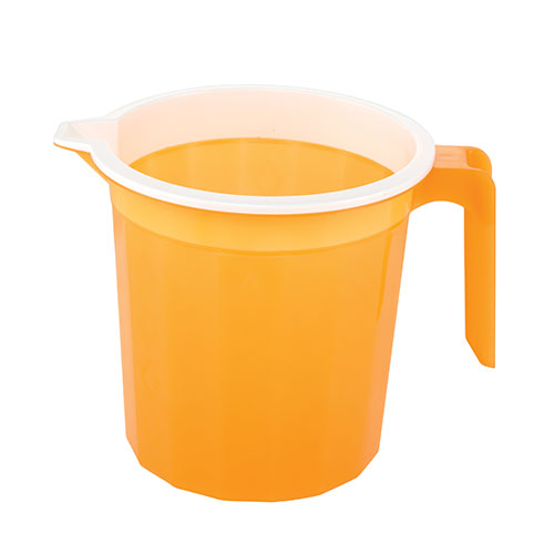 Diamond Mug Two Color Trans Orange 1.5L