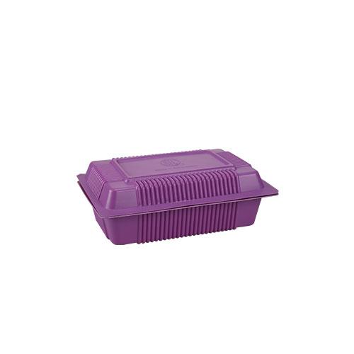 Lunch Box without lock(L) 50 Pcs set
