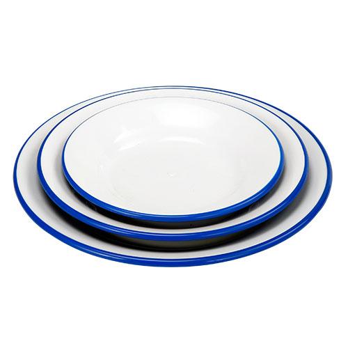 Malati Rice plate 3 pcs Set