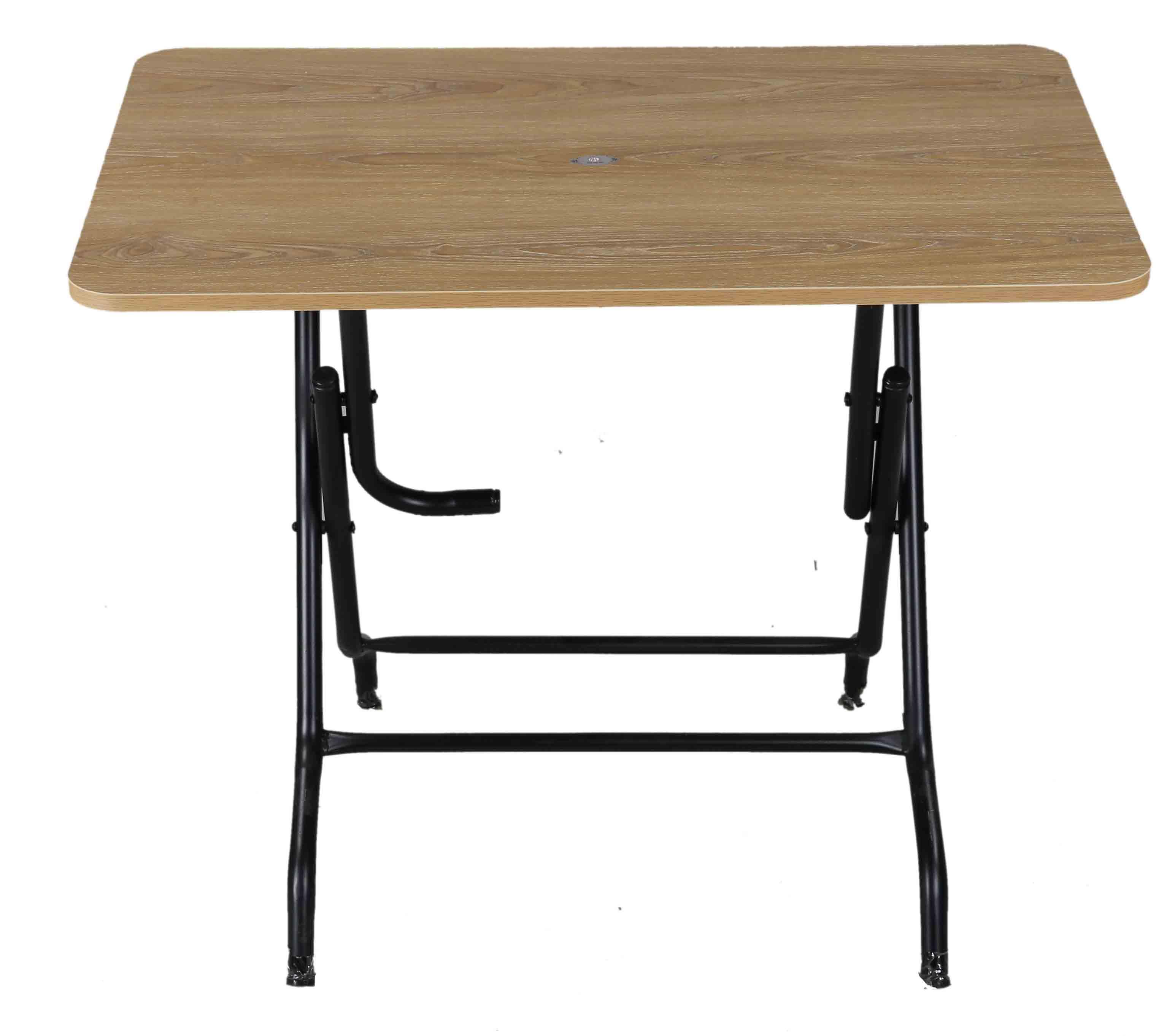 Melamine Table 4 Seated Sq StLeg-S.Wood