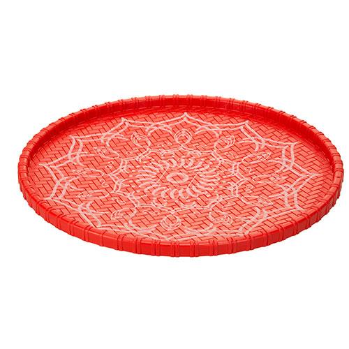 Plastic Dala Red size Medium