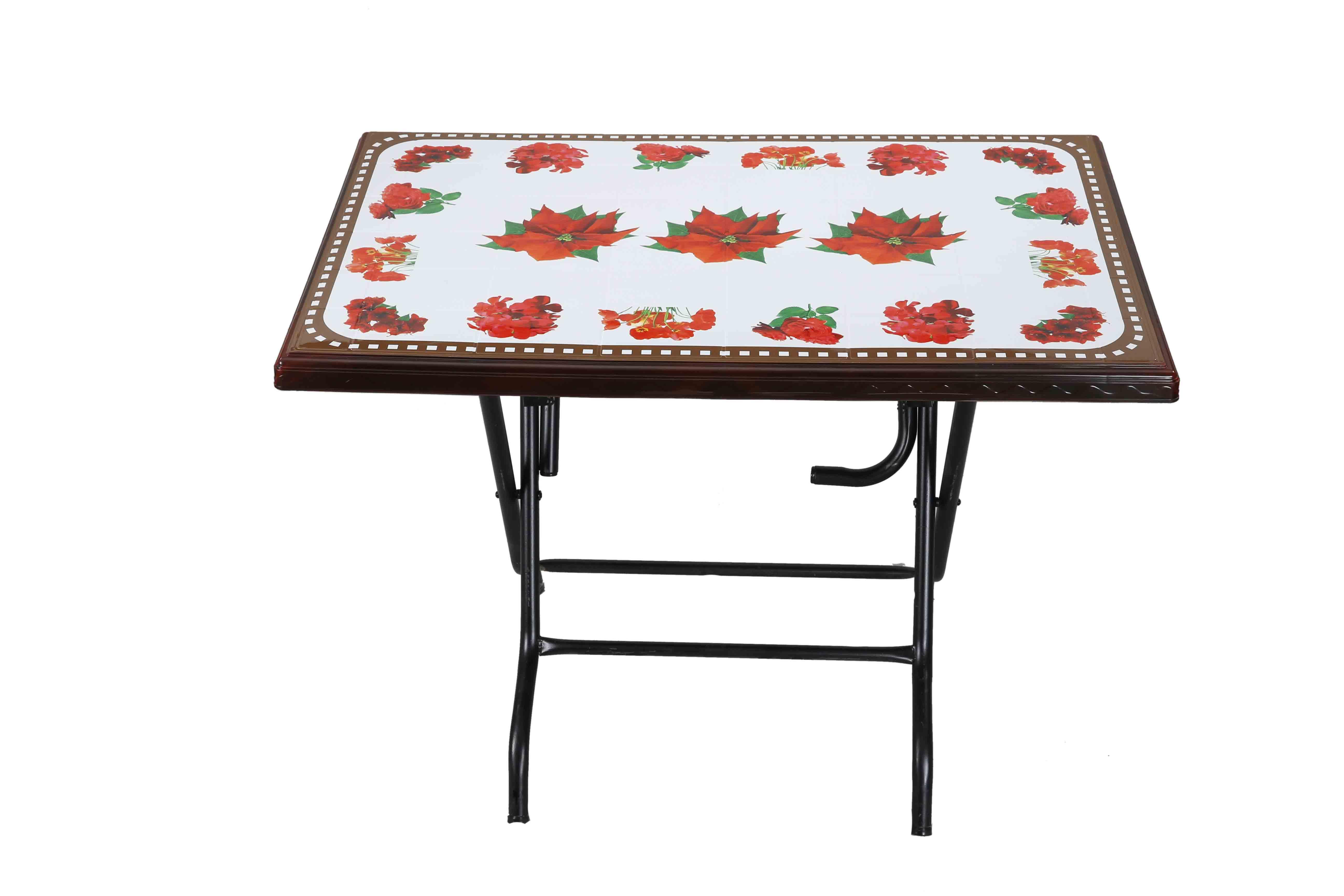Restaurant Table St/Leg Printed Joba – Rose Wood