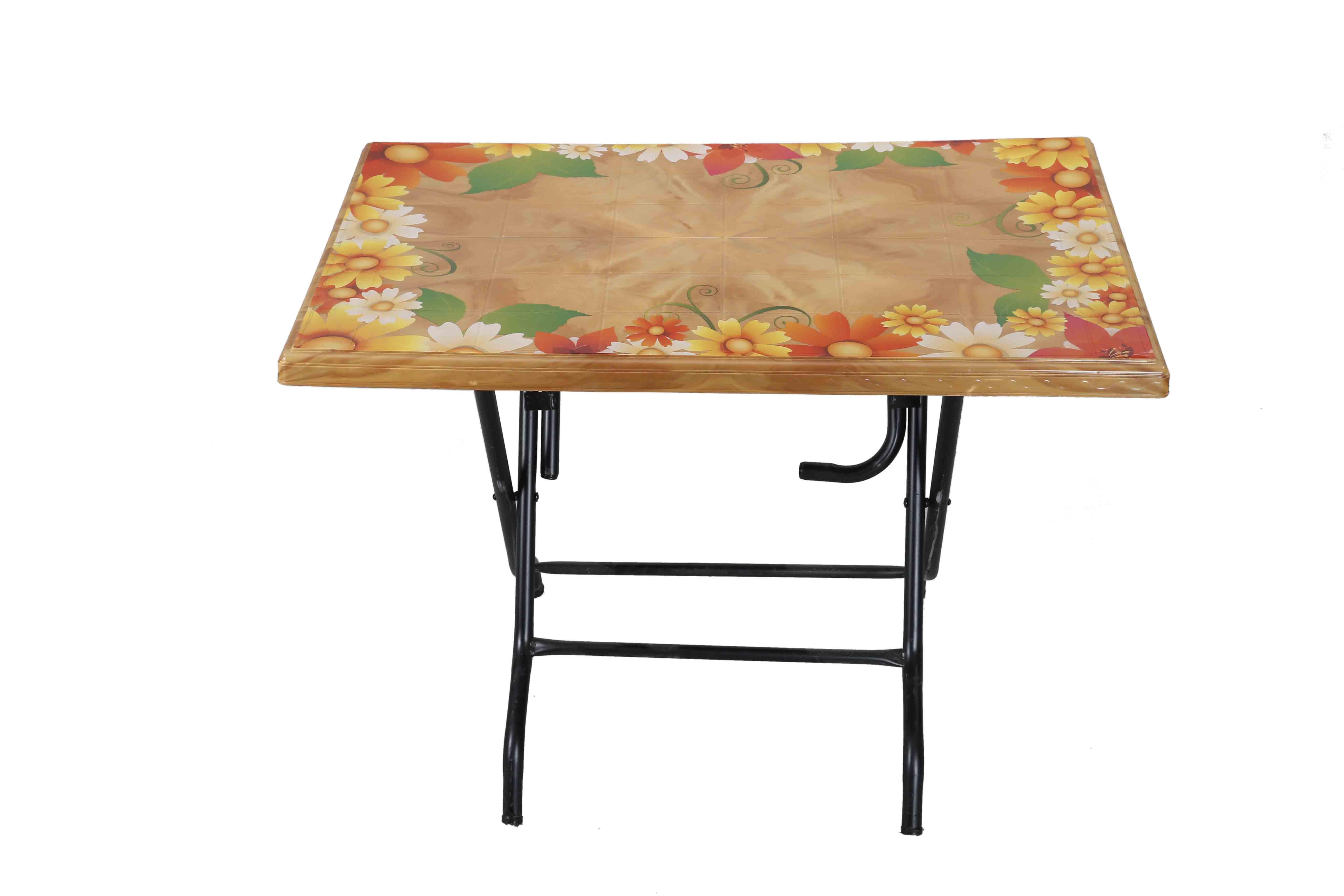 Restaurant Table StLeg Printed Sunflower – S.Wood