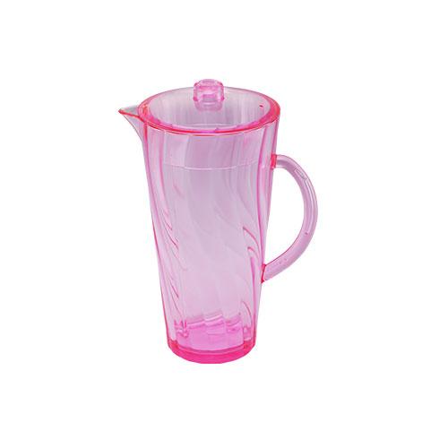 Shine Jug Trans Pink 2L