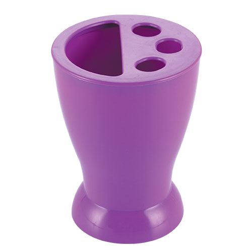 Smile Pencil Stand Purple