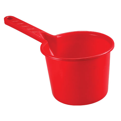 Straight Handle mug 1.5L Red