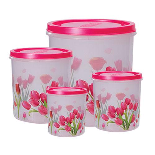 Tulip Container 4 Pcs Set Big