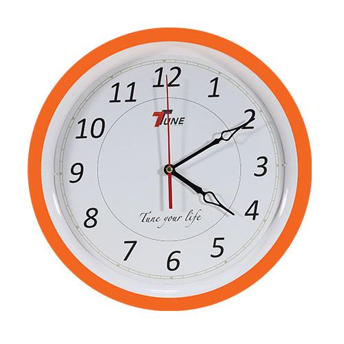 Tune Ro Wall Clock TR2 Orange