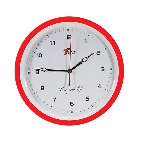 Tune Ro Wall Clock TR4 Red