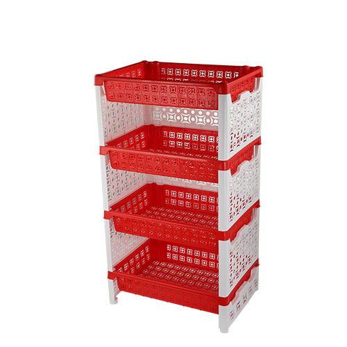 Two Color 4 Step Nova Rack Red & White