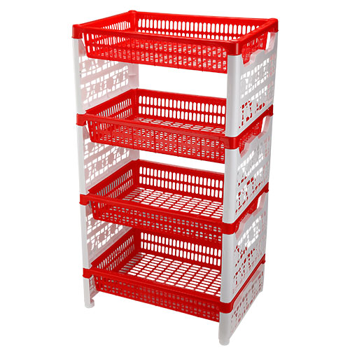 Two Color Smart Rack Red
