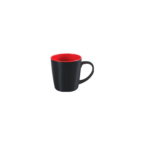 Two color Paris Mug Black & Red