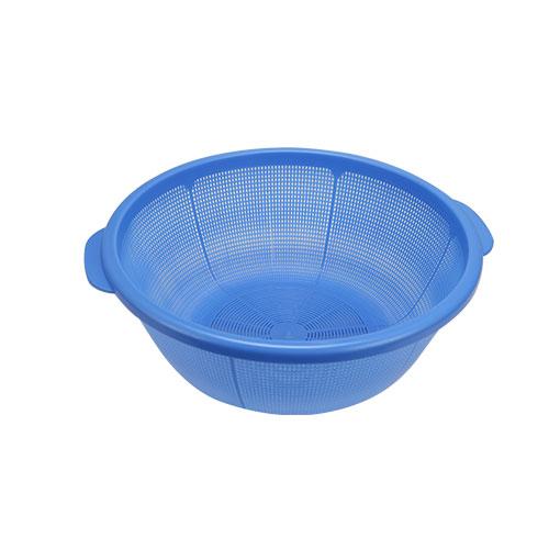 Vegetable washing net light blue 37 CM