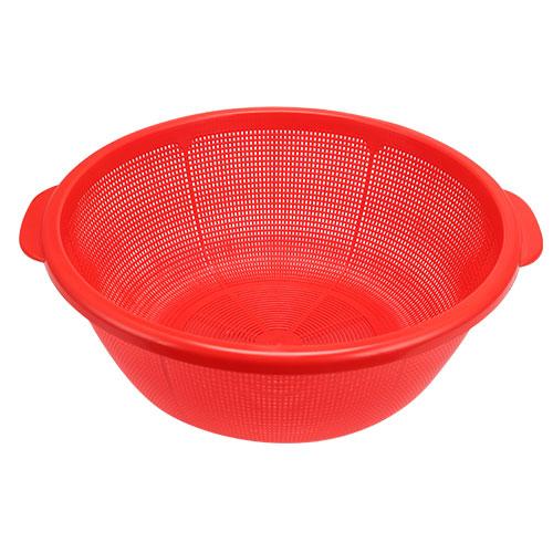 Vegetable washing net red