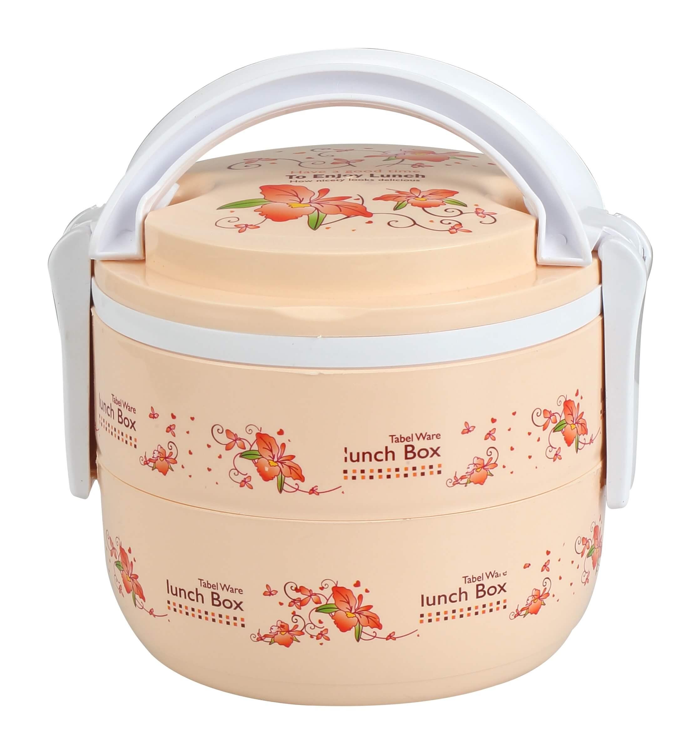 Double Tiffin Box Ro – Cream